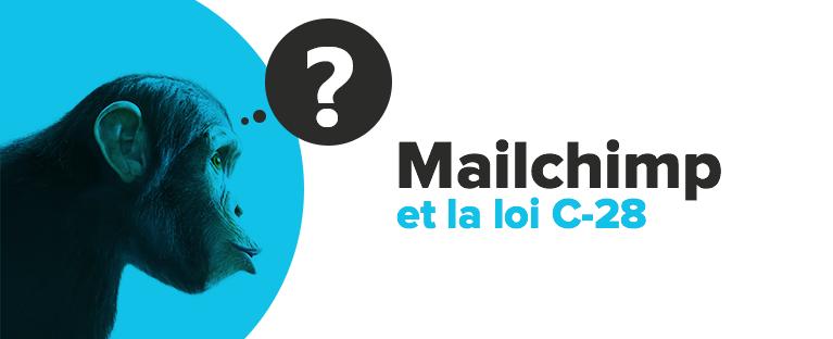 Mailchimp et la loi C-28