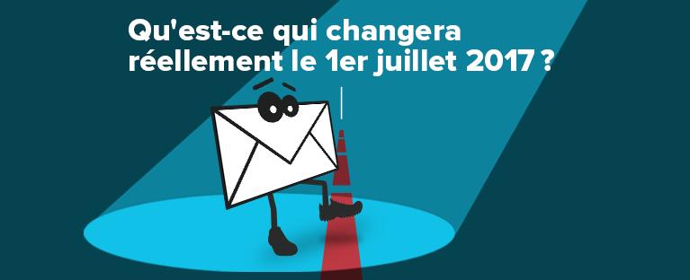 Loi C-28 changements 1er juillet