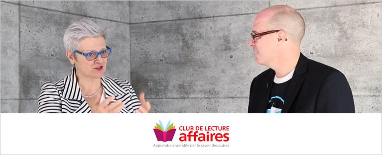 Entrevue « livres marquants » avec Stéphan Lestage de Cyberimpact (Club de lecture Affaires)