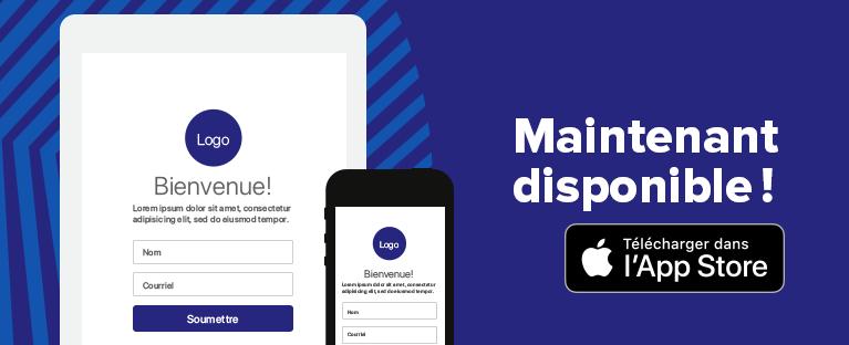 Les formulaires de Cyberimpact, maintenant disponibles sur iPad et iPhone !