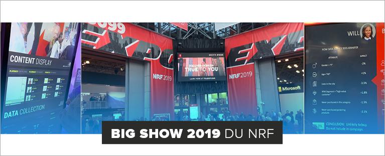 L'email marketing, toujours présent au Big Show 2019 du NRF