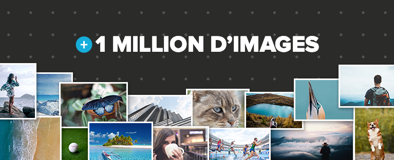 Plus d'un million d'images gratuites pour vos courriels