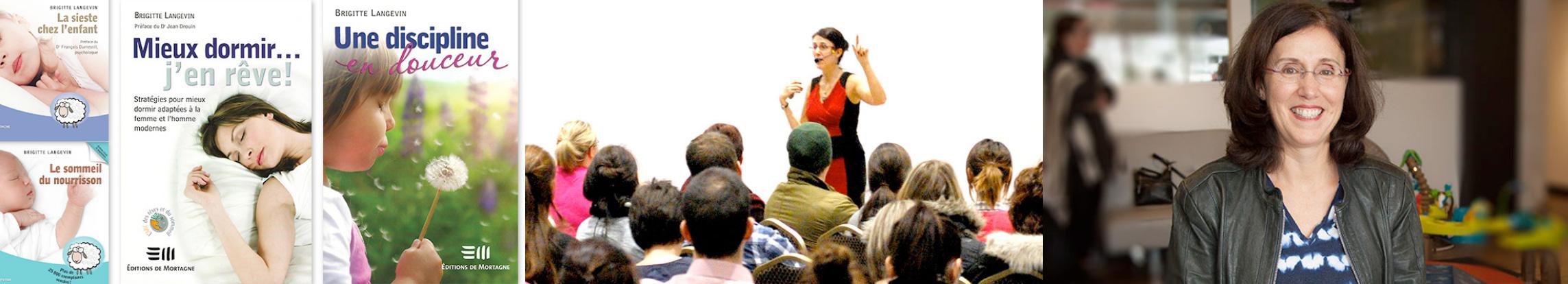 Brigitte Langevin in conference