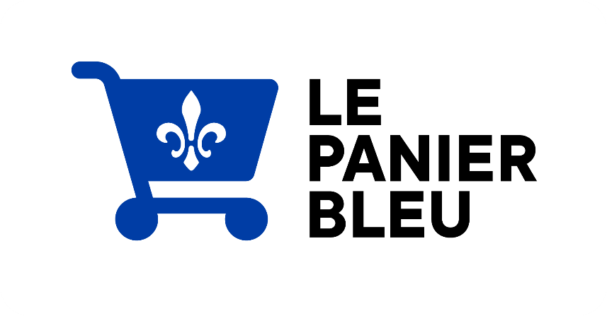Logo - Le panier bleu