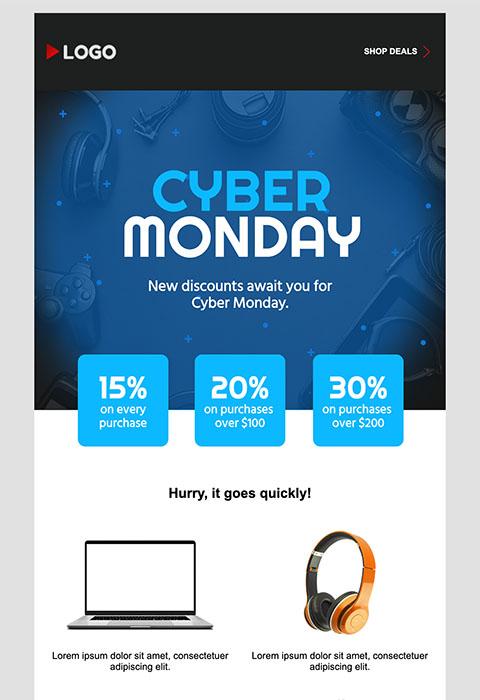 E-mail 4 - Cyber Monday